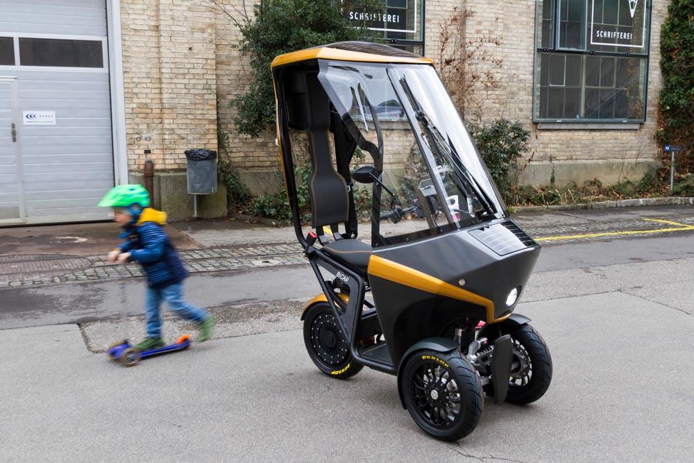 Der BICAR - ein nachhaltiges Gefährt mit Elektroantrieb © Share your BICAR AG