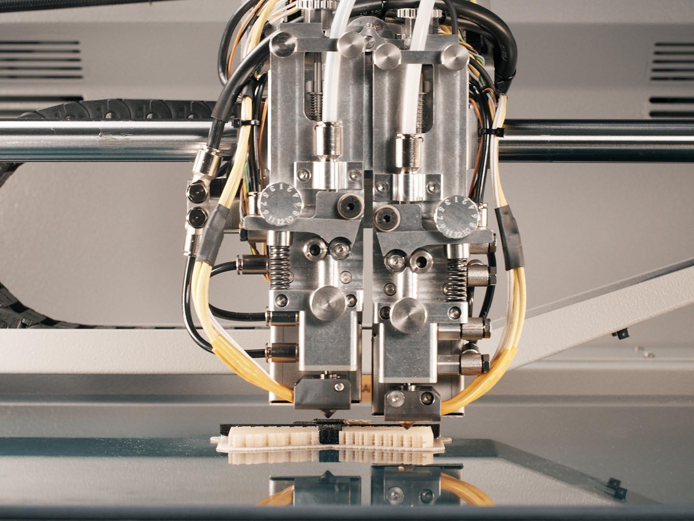 3D Druck - TiQ 5 Druckprozess