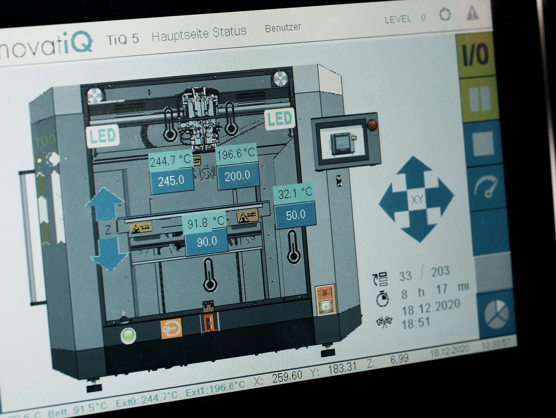 3D Drucker - TiQ 5 GestiQ Pro Detail
