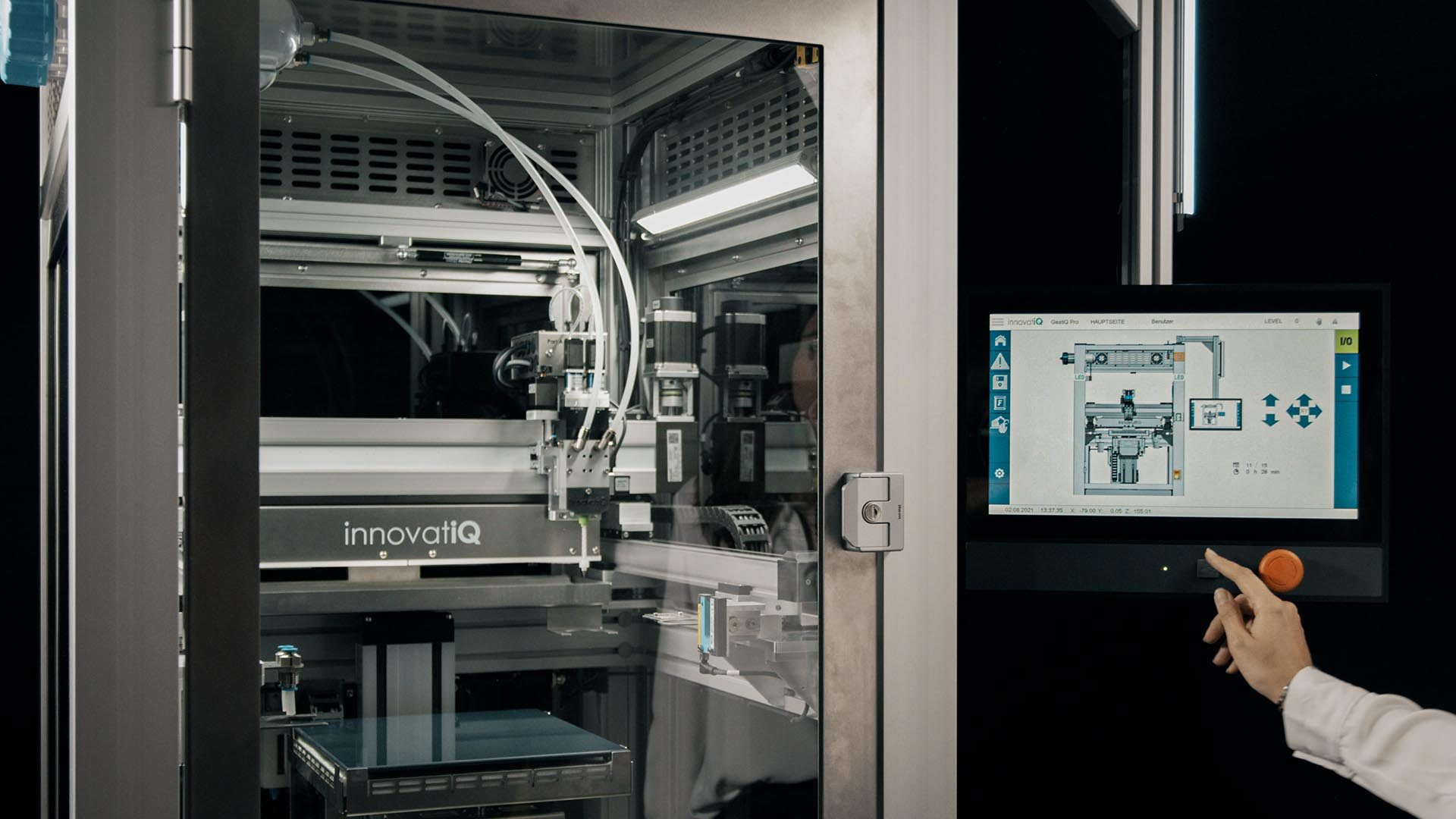 3D Drucker - LiQ320 HMI