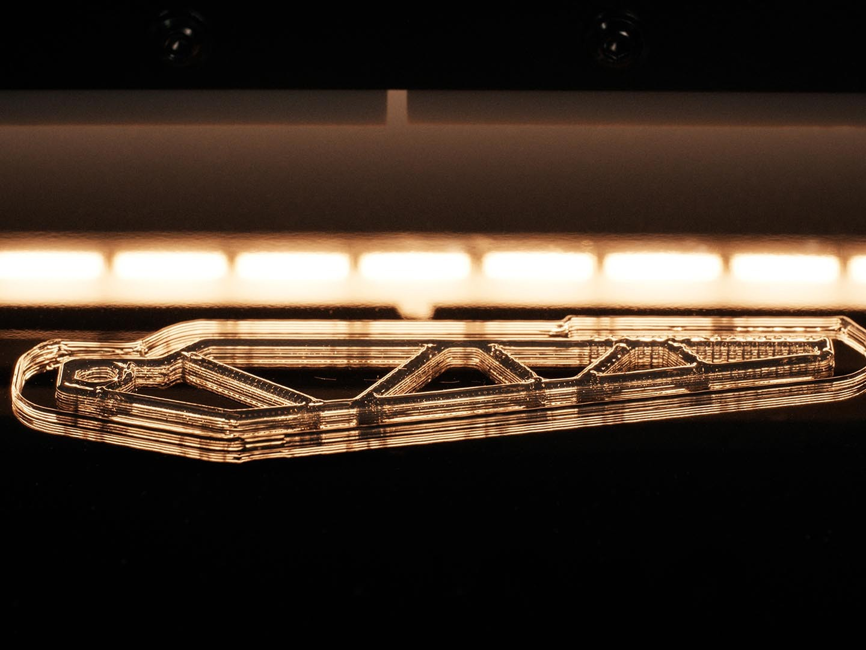3D Drucker - LiQ320 Material Vernetzung