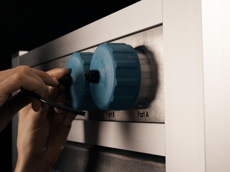 3D Drucker - LiQ320 Material Wechsel