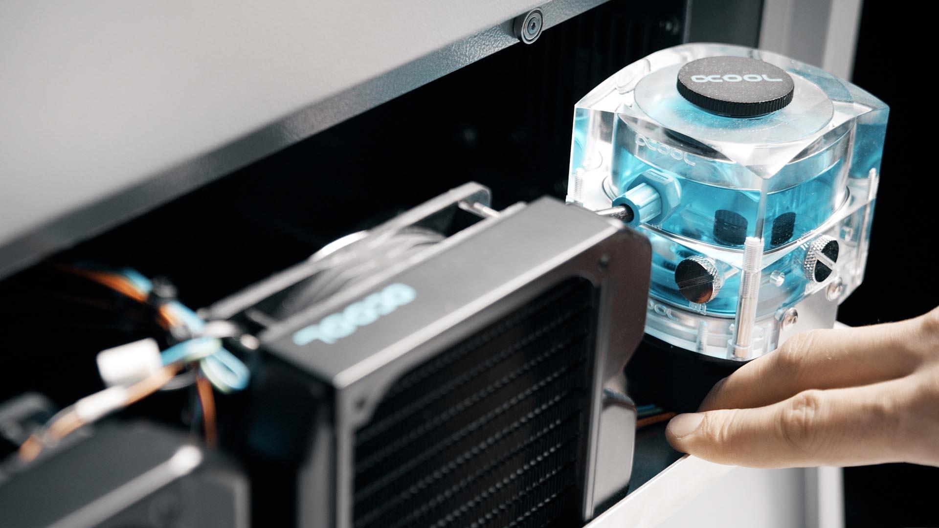 3D Drucker - TiQ 5 Wasserkühlung