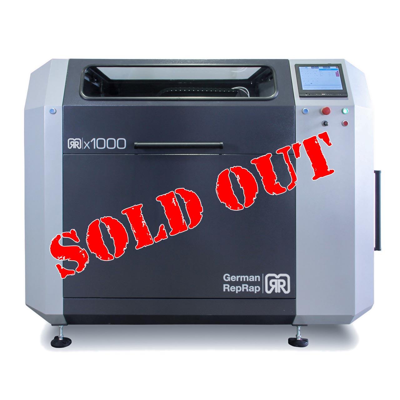 3D Drucker x1000 Front