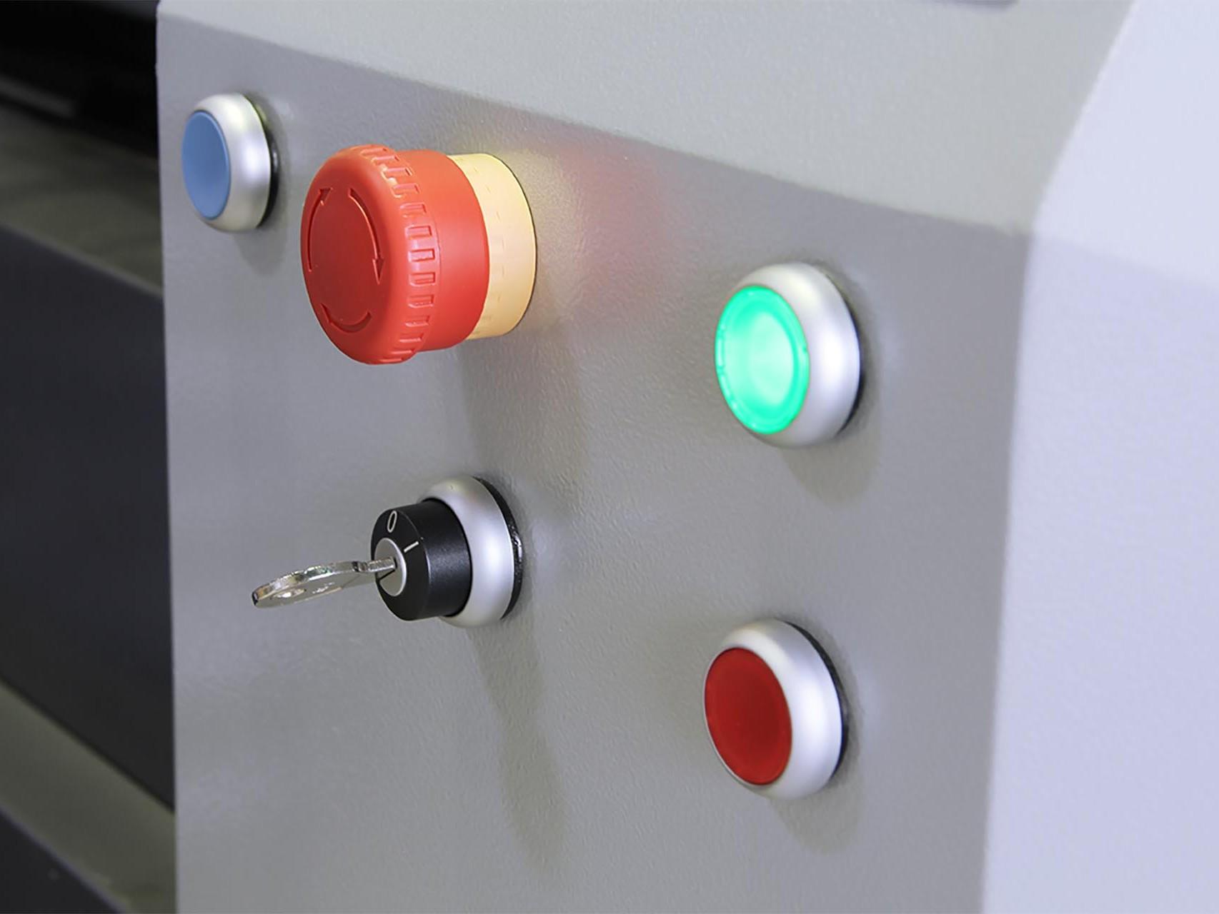 3D Drucker x1000 - Sicherheit