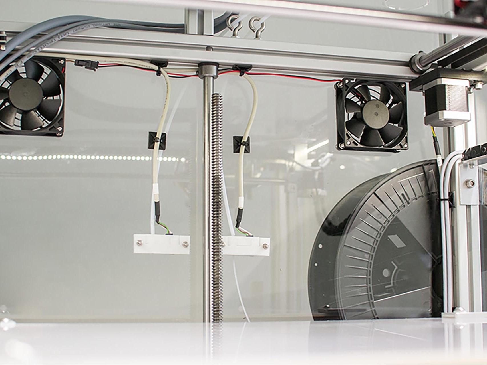 3D Drucker - x400 Belüftung