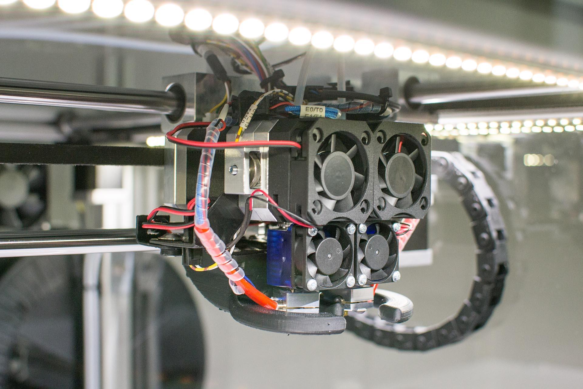 3D Drucker - x400 Extruder