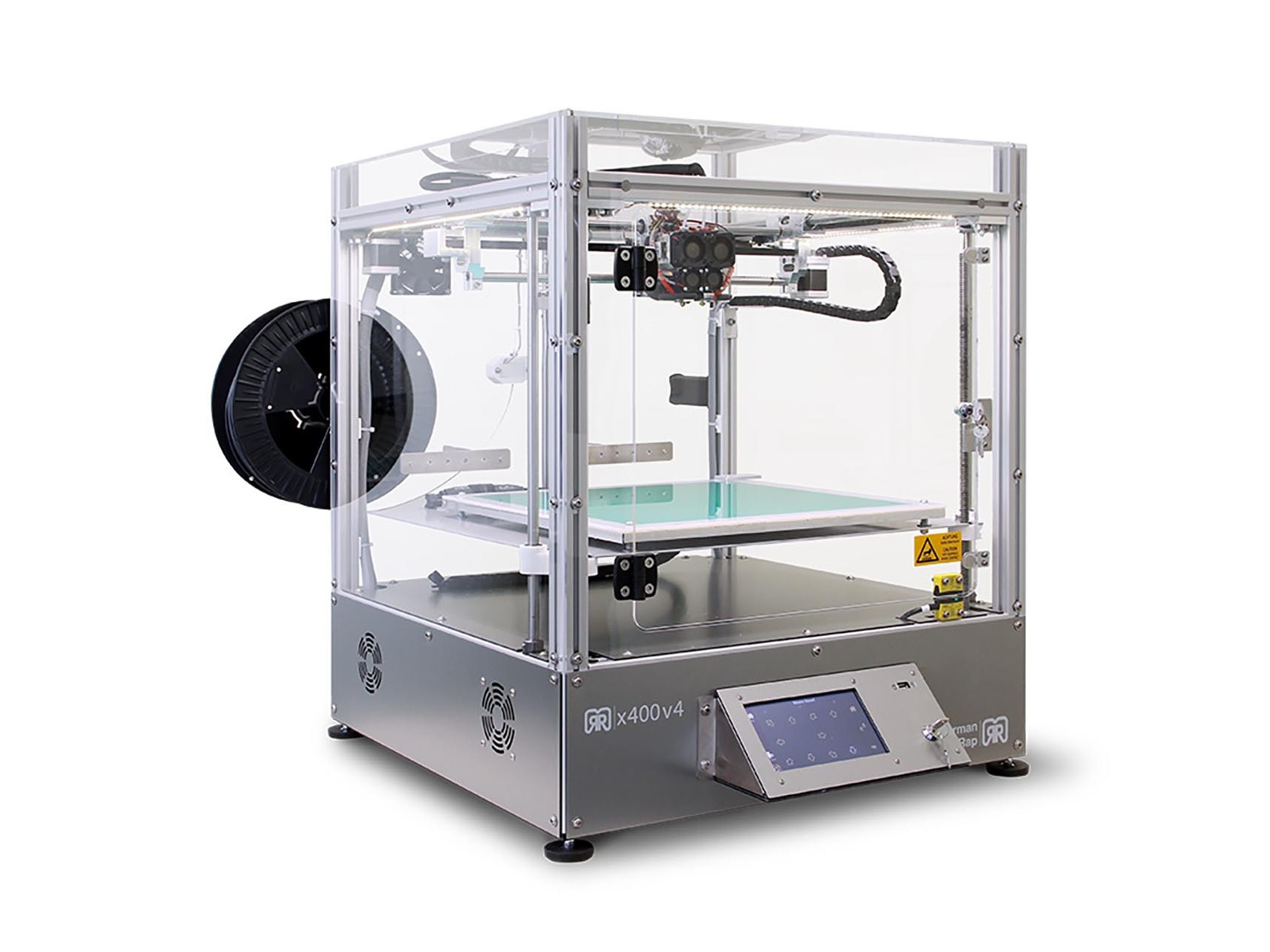 3D Drucker von innovatiQ - x400 Perspektive